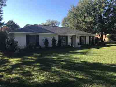 Ridgeland Single Family Home For Sale: 7105 Edgewater Dr