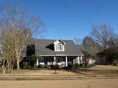 Hinds County Single Family Home For Sale: 307 Concord Dr