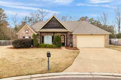 Pearl Single Family Home Contingent/Pending: 154 Beechwood Cir