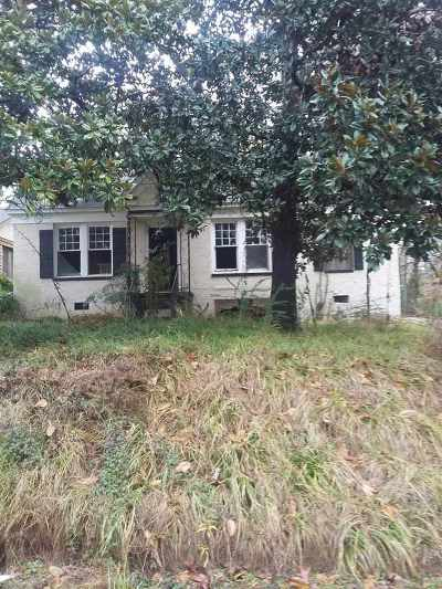 Jackson Single Family Home For Sale: 214 Marcus L Butler Dr