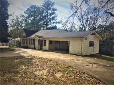 Carthage MS Single Family Home For Sale: $49,900