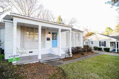 Jackson Single Family Home For Sale: 1201 Whitworth St