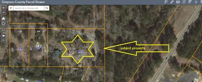 Simpson County Single Family Home Contingent/Pending: 123 Martin Cir