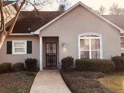 Hinds County Townhouse For Sale: 1018 Bayridge Dr