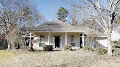 Rankin County Single Family Home Contingent/Pending: 117 Hanover Dr