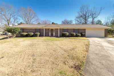 Hinds County Single Family Home For Sale: 607 Hampton Cv