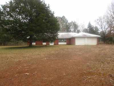 Single Family Home For Sale: 2344 Attala Rd 4211