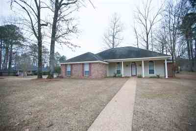 Hinds County Single Family Home For Sale: 936 Mountain Crest Dr