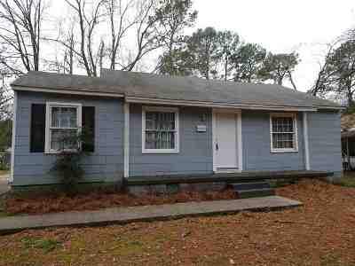 Hinds County Single Family Home For Sale: 757 Robinhood Rd