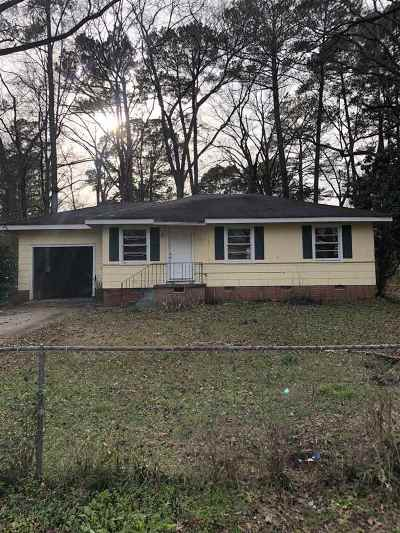 Jackson Single Family Home For Sale: 3525 Valley Rd