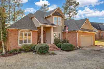 Hinds County Single Family Home Contingent/Pending: 206 Monterey Dr