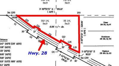 Smith County Residential Lots & Land For Sale: Highway 28 Hwy
