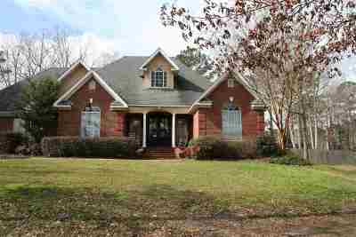 Rankin County Single Family Home Contingent/Pending: 113 Sandstone Dr