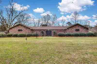 Clinton Single Family Home For Sale: 605 Clinton Tinnin Rd