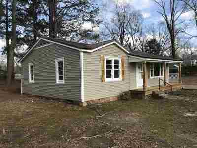 Walnut Grove MS Single Family Home For Sale: $69,000