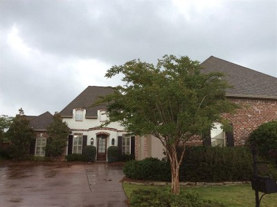Flowood Single Family Home For Sale: 306 Emerald Cv