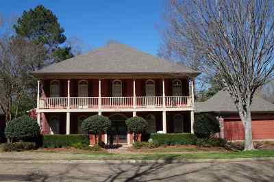 Jackson Single Family Home For Sale: 2218 Sheffield Dr