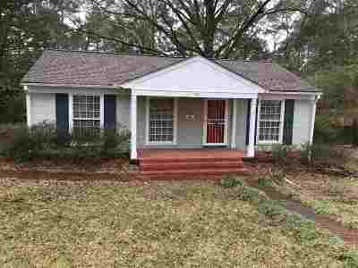 Jackson Single Family Home For Sale: 1161 Druid Hill Dr