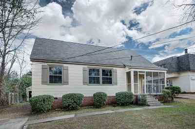 Hinds County Single Family Home For Sale: 1056 Monroe St