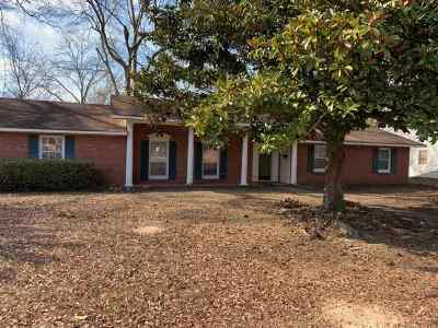 Jackson Single Family Home For Sale: 5115 Sunnyvale Dr