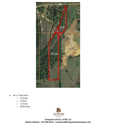 Canton Residential Lots & Land For Sale: 2848 Highway 43 North