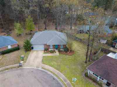 Flowood Single Family Home Contingent/Pending: 514 Stockton Cv