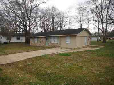 Walnut Grove MS Single Family Home For Sale: $75,000