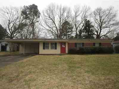 Hinds County Single Family Home Contingent/Pending: 526 Bellevue St