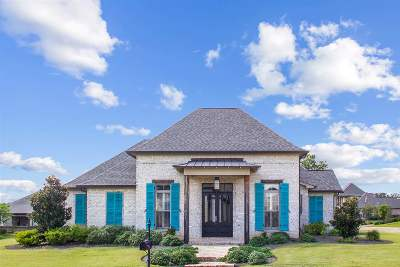 Flowood Single Family Home For Sale: 1400 Ruby Pointe