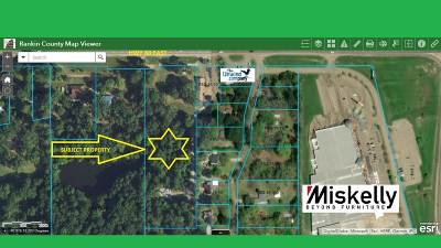 Rankin County Residential Lots & Land For Sale: Hwy 80 East