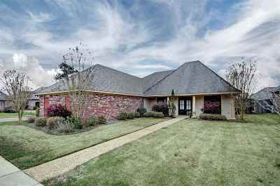 Flowood Single Family Home For Sale: 182 Tradition Pkwy