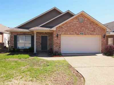 Clinton Single Family Home Contingent/Pending: 412 Twin Lakes North