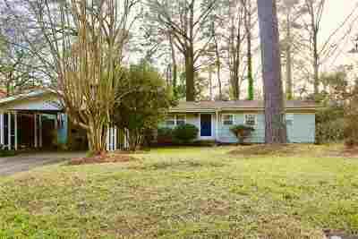 Jackson Single Family Home For Sale: 1827 Parkridge Dr