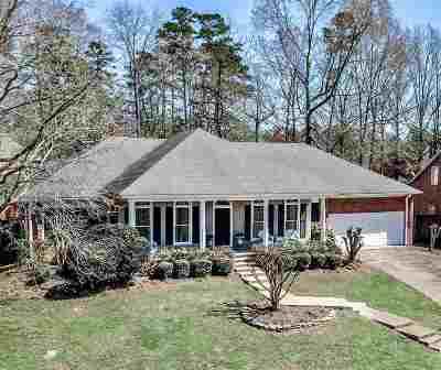 Brandon Single Family Home For Sale: 424 Woodlands Cir