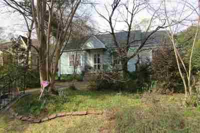 Jackson Single Family Home For Sale: 1610 Belmont St