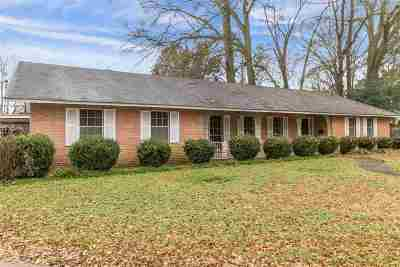 Hinds County Single Family Home Contingent/Pending: 2821 Gretna Green St
