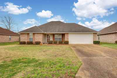 Hinds County Single Family Home For Sale: 1026 Bull Run Dr