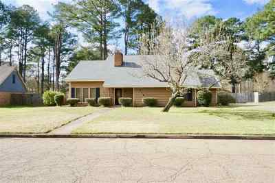Hinds County Single Family Home For Sale: 5161 Sycamore Dr