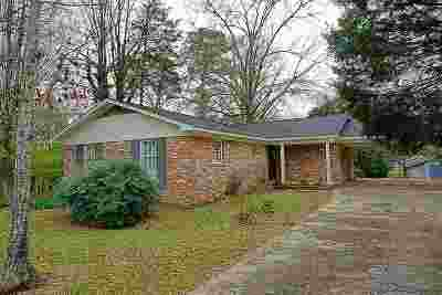 Leake County Single Family Home Contingent/Pending: 207 White St