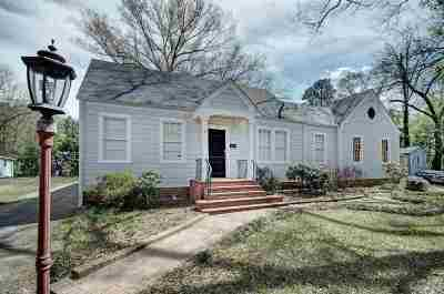 Hinds County Single Family Home For Sale: 1154 Quinn St
