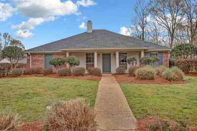Rankin County Single Family Home Contingent/Pending: 332 White Oak Dr