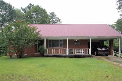 Jefferson Davis County Single Family Home For Sale: 54 Mack Cemetary Rd