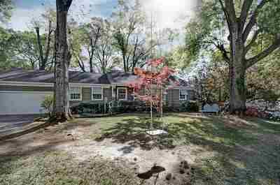 Jackson Single Family Home Contingent/Pending: 4028 Robin Dr