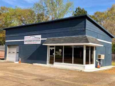 Attala County Commercial For Sale: 210 W Hwy 12 Hwy