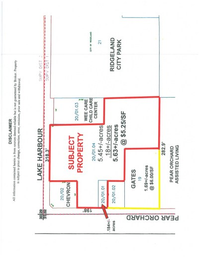 Madison County Residential Lots & Land For Sale: Lake Harbor Dr