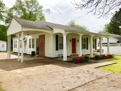 Carthage MS Single Family Home Contingent/Pending: $110,000