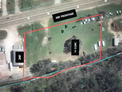 Leake County Residential Lots & Land For Sale: 700 Block Hwy 35 S