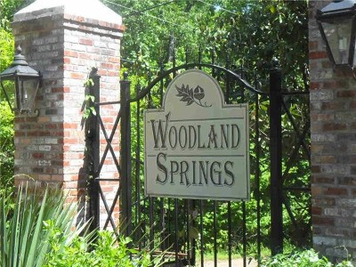 Ridgeland Residential Lots & Land For Sale: Lot 21 Woodland Springs Dr