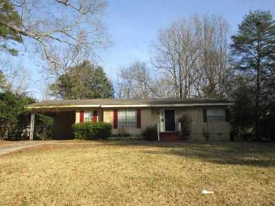 Jackson Single Family Home For Sale: 3150 Shirley Dr