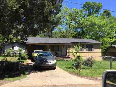 Jackson Single Family Home For Sale: 3832 Cromwell St